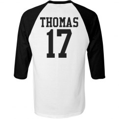 Two Color Baseball Jersey