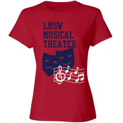 LMSW musical theater shirt