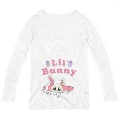 Easter Bunny Maternity Longsleeve