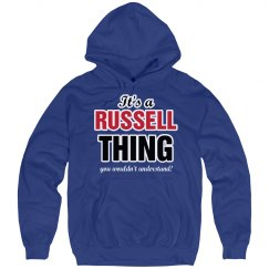 It's a Russell thing