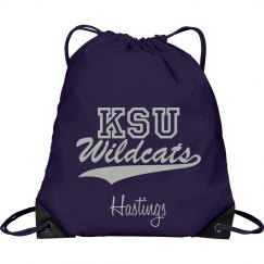 Personalized KSU Bag