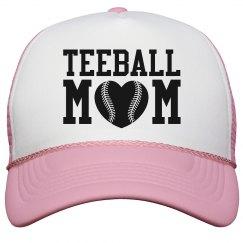 Teeball Mom Hat