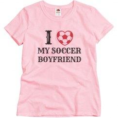 Love my soccer boyfriend