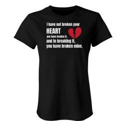 Broken Heart Bronte Quote
