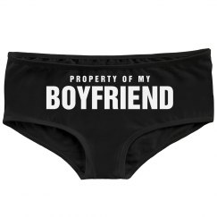 Property Of My Boyfriend Booty