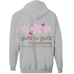 Lunch-time zip hoodie