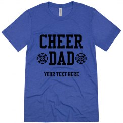 Personalized Cheer Dad Tee