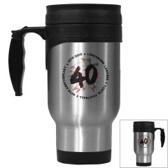 40th Anniversary Travel Mug
