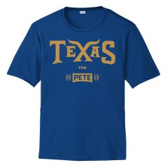 Texas for Pete - Royal Blue - Sport-Tek