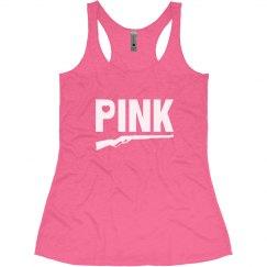 Pink Gun Tank Top