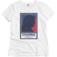 Trump The Strawman Basic Tee