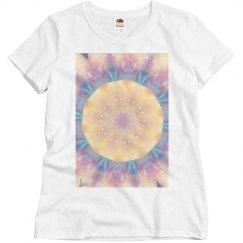 Circles of light mandala tee