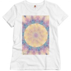 Circles of light mandala tee