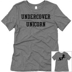 Undercover Unicorn ladies tee
