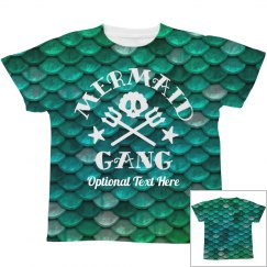 Mermaid Gang Youth Design