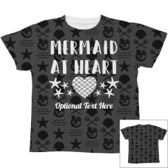 Youth Mermaid At Heart Pattern