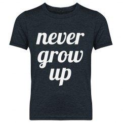 Never Grow Up Youth Tee