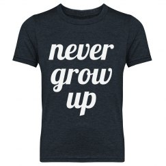 Never Grow Up Youth Tee