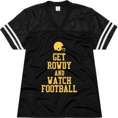 Keep Calm Watch Football