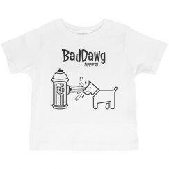 boys T-shirt baddawg hydrant revenge