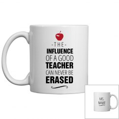 Custom Name Teacher's Mug