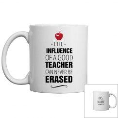 Custom Name Teacher's Mug
