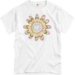 Bohemian Hippie Flower Tee