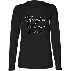 Kingdom Woman Long Sleeve Tee