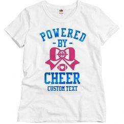 Blue Metallic Powered by Cheer