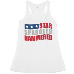 Star Spangle Hammered USA