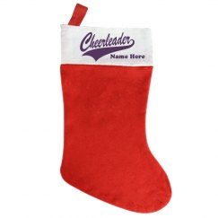 Custom Cheer Stocking