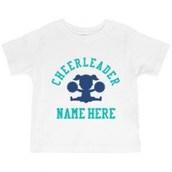 Little Girl Cheerleader Gift Custom