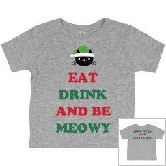 Eat Drink & Be Meowy Family Xmas