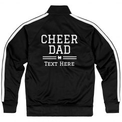 Cheer Dad Custom Text Design