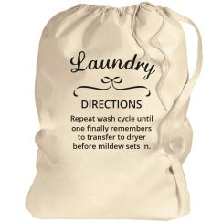 Funny Laundry Directions For Teen