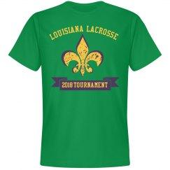 Custom Lacrosse State Tournament Tee