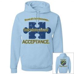 ACCEPTANCE heart hoodie