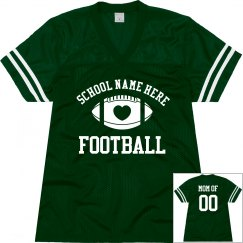 Football Moms Custom Jerseys With Name Number