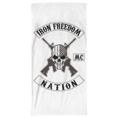 Brothers beach towel