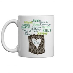Hiser Family Tree Mug