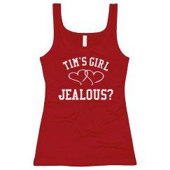 Jealous of Tim's Girl