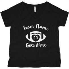 Custom Football Mom Number/Team
