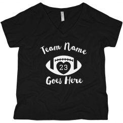 Custom Football Mom Number/Team