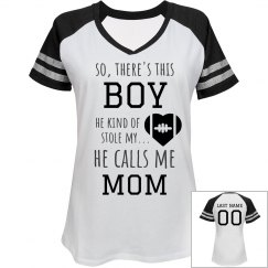 Custom Football Mom Stolen Heart