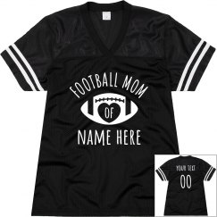 Custom Football Mom Jersey Name/No.