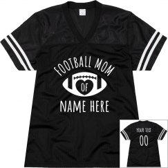 Custom Football Mom Jersey Name/No.