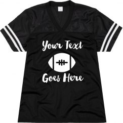 Cute & Custom Football Mom Jersey
