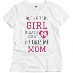 Cheerleader Stole Moms Heart