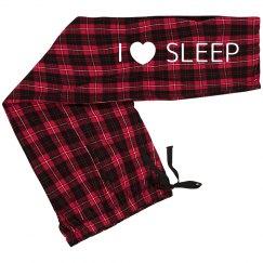 I Love Sleep PJ Pants
