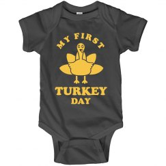 First Thanksgiving Onesie
